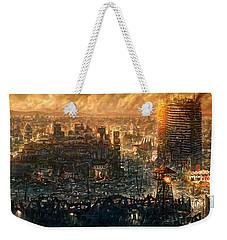 Post Apocalyptic Weekender Tote Bag