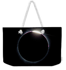 Post Diamond Ring Effect Weekender Tote Bag