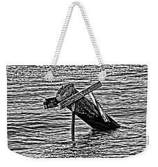 Post In The Bayou Weekender Tote Bag by Maggy Marsh