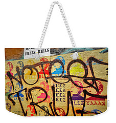 Post No Bills Hillary Clinton  Weekender Tote Bag by Funkpix Photo Hunter