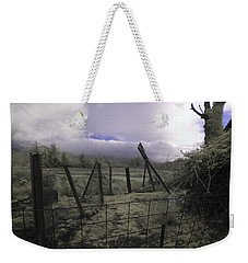 Weekender Tote Bag featuring the photograph Post Storm by Chriss Pagani