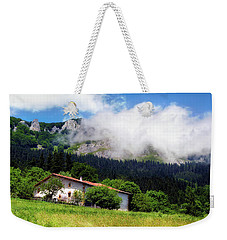 Postcard From Basque Country Weekender Tote Bag