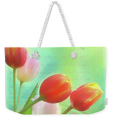 Postcards From The Edge Weekender Tote Bag by Catherine Alfidi