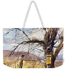 Posted Weekender Tote Bag by Judith Levins