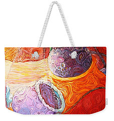 Pot Of Life Weekender Tote Bag by Bankole Abe