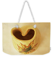 Pot On  A Leaf Weekender Tote Bag