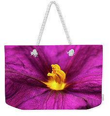 Potato Bush Flower Weekender Tote Bag