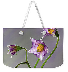 Potato Flowers Weekender Tote Bag
