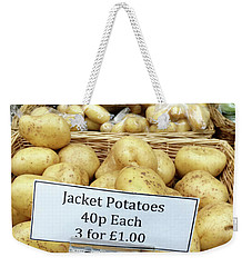 Potatoes At The Market  Weekender Tote Bag by Tom Gowanlock