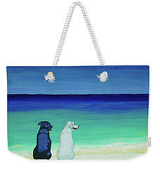 Potcake Dogs On The Beach Weekender Tote Bag