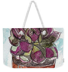 Potted Cactus Weekender Tote Bag