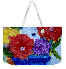 Potted Flowers Weekender Tote Bag