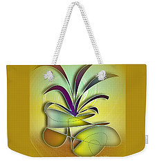Weekender Tote Bag featuring the photograph Potted Plant 3 by Iris Gelbart