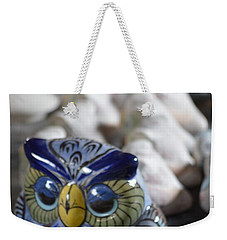 Pottery Bird Weekender Tote Bag