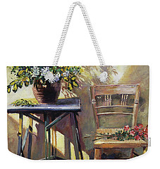 Pottery Maker's Table Weekender Tote Bag
