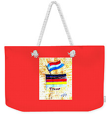 Potus For All Black Brown, Red, Yellow, White Weekender Tote Bag