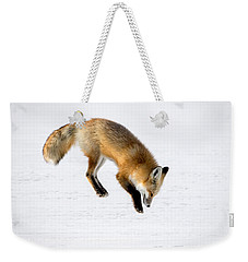 Pounce Weekender Tote Bag by Jack Bell