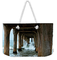 Pounded Pier Weekender Tote Bag