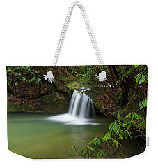 Pounder Branch Falls # 2 Weekender Tote Bag by Ulrich Burkhalter