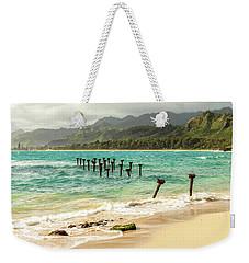 Pounders Beach 6 Weekender Tote Bag