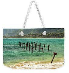 Pounders Beach 7 Weekender Tote Bag