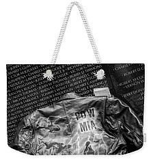 Pow Mia Never Forget Weekender Tote Bag