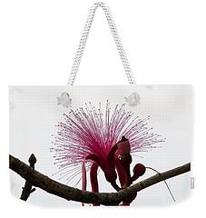 Powder Puff Weekender Tote Bag by Amar Sheow