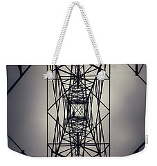 Power Above Weekender Tote Bag