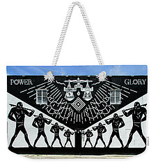 Power And Glory Weekender Tote Bag
