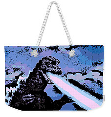 Power Blast Weekender Tote Bag by George Pedro