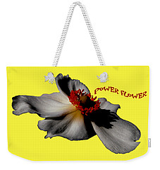 Power Flower Anemone Weekender Tote Bag