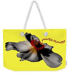 Power Flower Anemone Weekender Tote Bag