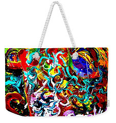 Power Of Colour Weekender Tote Bag