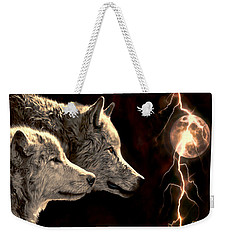 Power Of The Moon Weekender Tote Bag