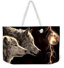 Power Of The Moon Weekender Tote Bag by Pennie  McCracken