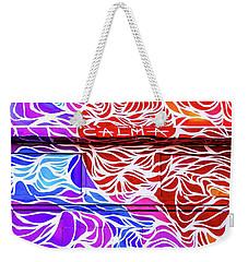 Power Waves Weekender Tote Bag