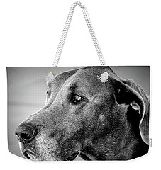 Weekender Tote Bag featuring the photograph Powerful Majesty by Barbara Dudley