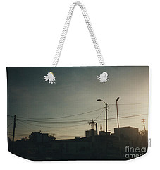 Untitled Street Scene Weekender Tote Bag