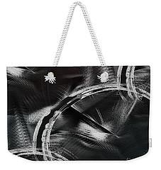 Weekender Tote Bag featuring the digital art Powers Of Dark by Yul Olaivar