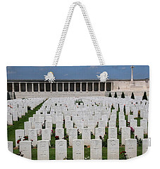 Pozieres British Cemetery Weekender Tote Bag by Travel Pics