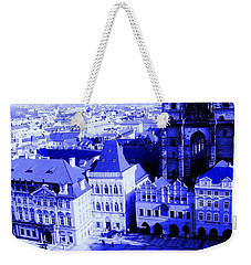 Weekender Tote Bag featuring the photograph Prague Cz by Michelle Dallocchio