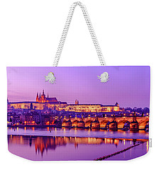 Weekender Tote Bag featuring the photograph Prague Fairytale by Dmytro Korol