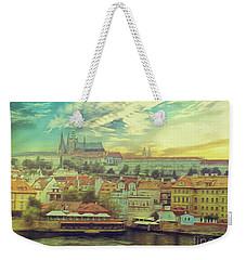 Prague Riverview Weekender Tote Bag