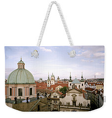 Prague Twilight Weekender Tote Bag