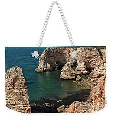 Praia Da Marinha Cliffs And Sea Weekender Tote Bag