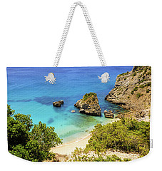 Praia Da Ribeira Do Cavalo In Sesimbra, Portugal Weekender Tote Bag