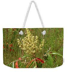 Prairie Flame Leaf Sumac Weekender Tote Bag