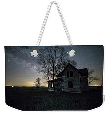 Prairie Gold And Milky Way Weekender Tote Bag