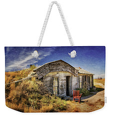 Prairie Homestead In South Dakota Weekender Tote Bag