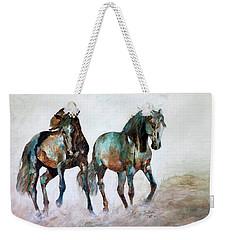 Prairie Horse Dance Weekender Tote Bag